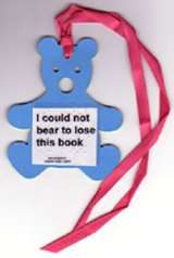 'Feely' bookmark reads 'I could not bear to lose this book'