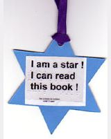 'Feely' bookmark reads 'I am a star! I can read this book!'