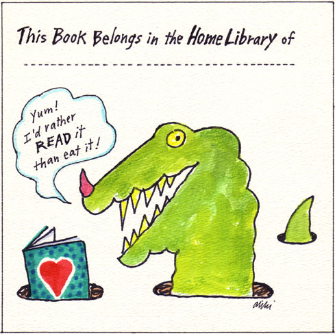 Aliki's bookplate #5