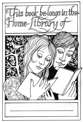 Alison Prince's bookplate #1