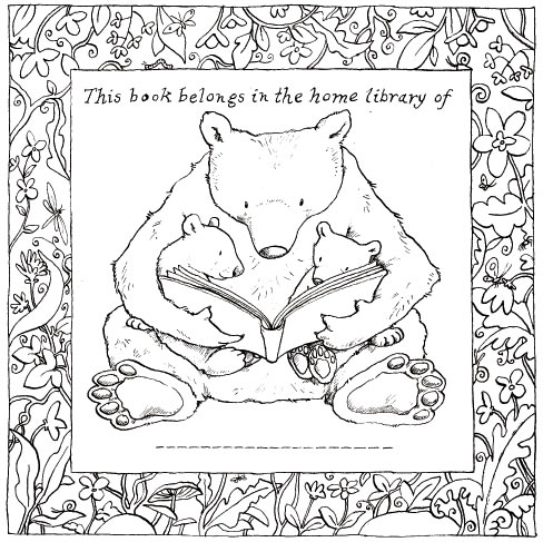 Anita Jeram's bookplate #2