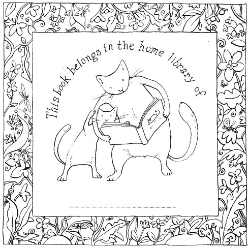 Anita Jeram's bookplate #3