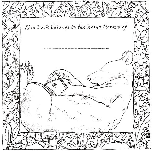 Anita Jeram's bookplate #4
