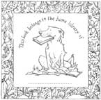 Anita Jeram's bookplate #6