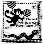 Clare Beaton's bookplate #1