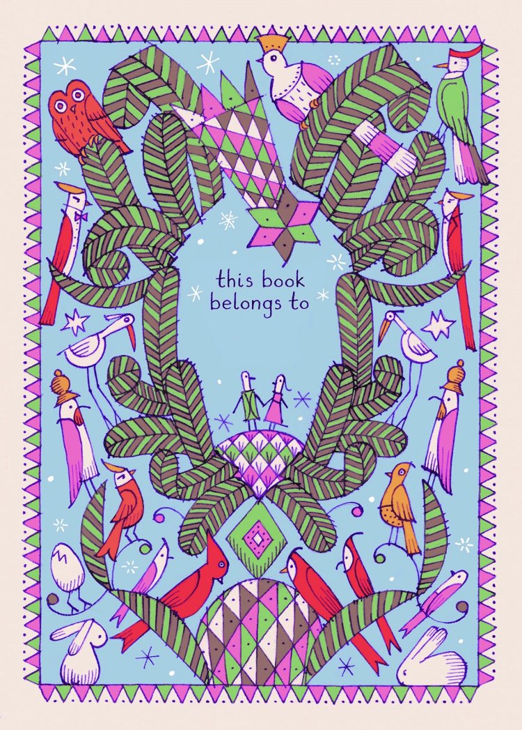 David Lucas's bookplate #1