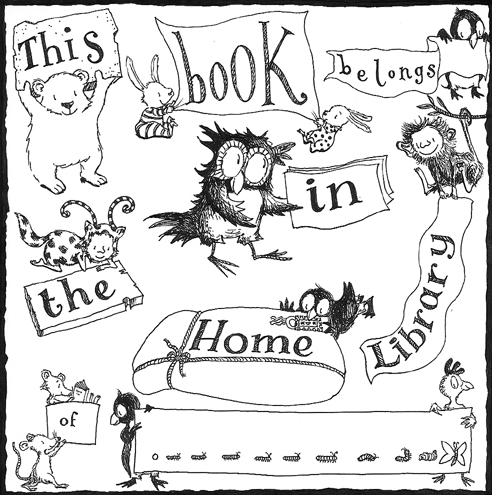 Debi Gliori's bookplate #1