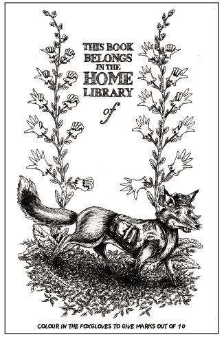 Ian Penney's bookplate #1