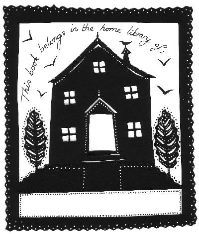 Jane Ray's bookplate #1