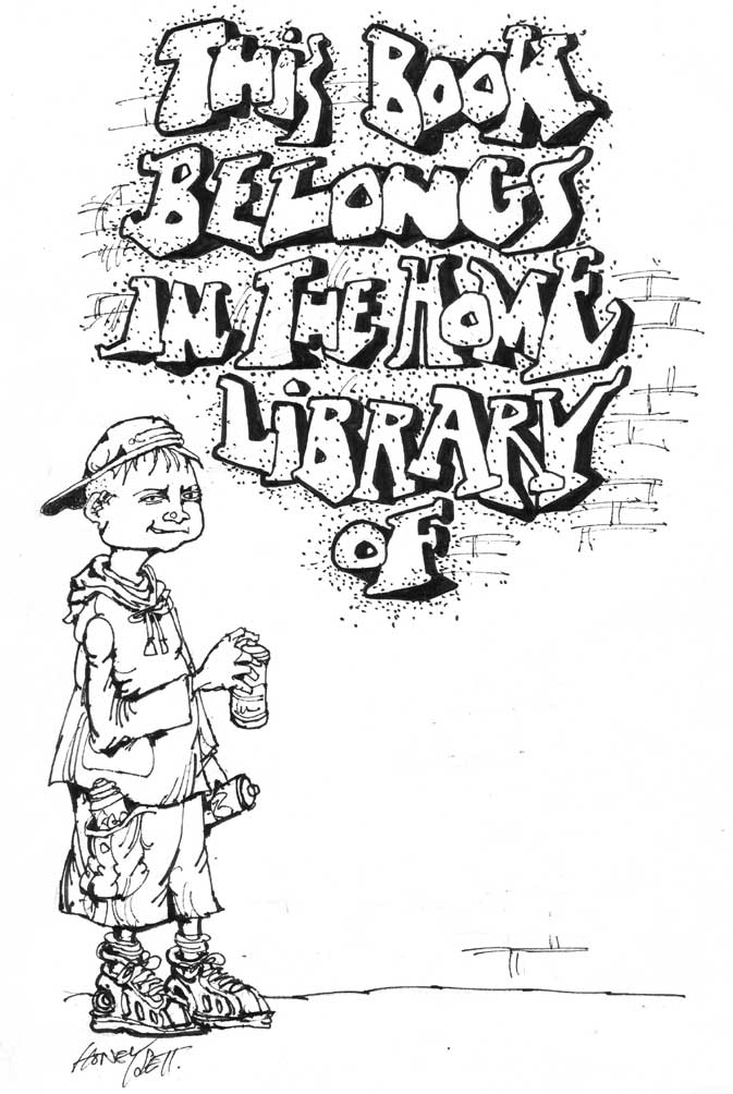 Martin Honeysett's bookplate #1