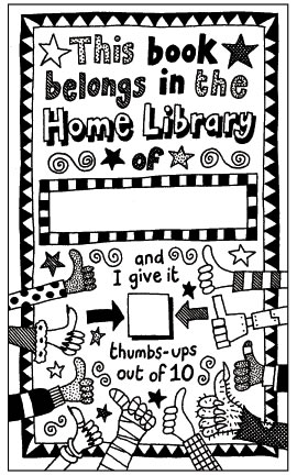 Nick Sharratt's bookplate #1