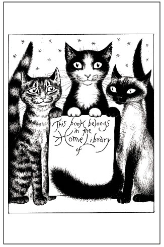 Nicola Bayley's bookplate #1