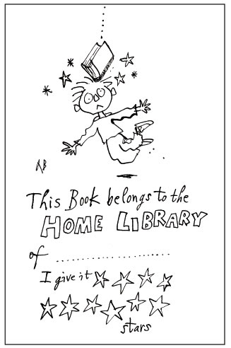 Quentin Blake's bookplate #2