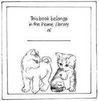 Susie Hodge's bookplate #3