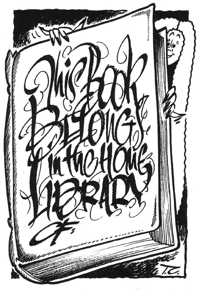 Terry Christien's bookplate #3