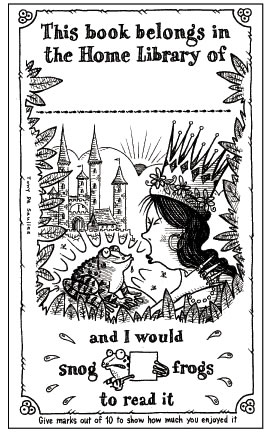 Tony De Saulles's bookplate #1