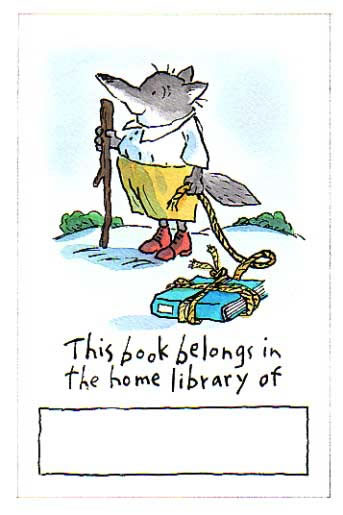 Tony Ross's bookplate #3